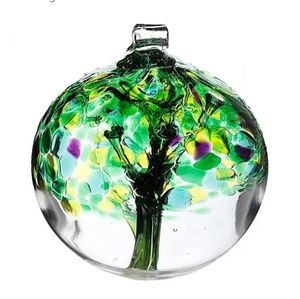 Kitras art blown glass Spring Tree Collector's